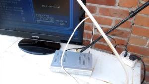 Kabel tulpan sputnik TV